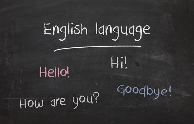 anglický jazyk
