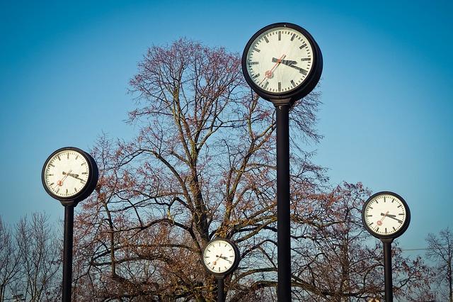 venkovní hodiny