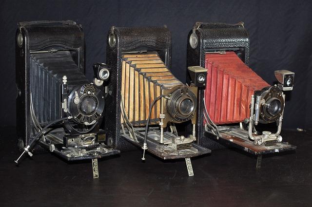 historické kamery