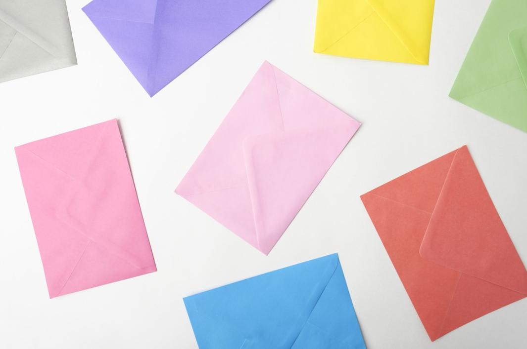 obálky a barvy